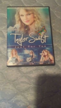 Taylor Swift Just For You DVD case Levant, 04456