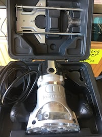 Craftsman Model  [TL_HIDDEN]  Amp Variable Speed Fixed Base Router  Wellsville, 17365