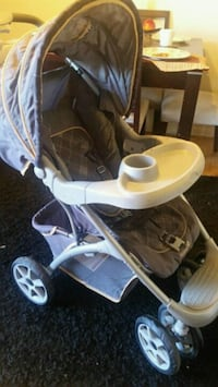 baby's gray and white stroller Toronto, M4C 5L7