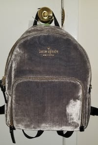 NWT Authentic Kate Spade Soft Charcoal Hartley Backpack Regularly 248 Levittown