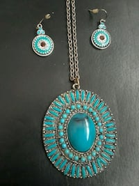 Turquoise necklace Revere, 02151