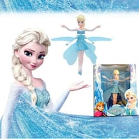 Flying Fairy Frozen Elsa Doll Flutterbye Electronic Childrens Toy Christmas Gift Ajax
