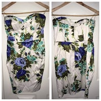 white, purple, and green floral dress Barrie, L4N 0X8