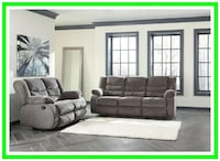 Tulen Gray Reclining Sofa & Loveseat Washington