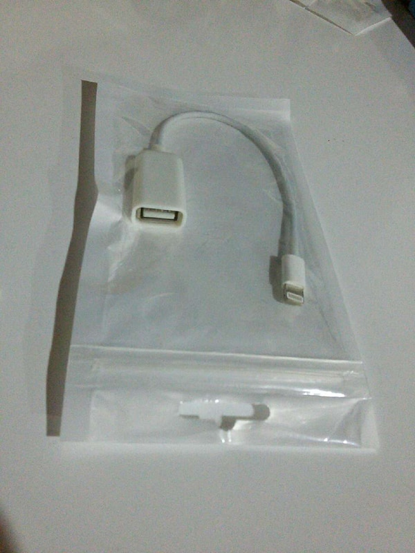 Apple OTG cable 38d64285-e5f5-4d63-a8ed-07025d492b03