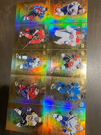 Tim Hortons Hockey Cards- GOLD ETCHED-FULL SET Milton, L9T 4Y4
