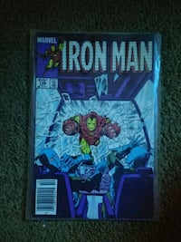Iron man comic 199 oct Queens, 11101