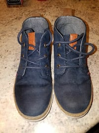 Navy Suede boot size 13