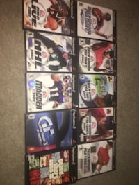 PS2 Games ($3 each) ALEXANDRIA