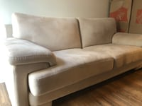 Sofa and Single Couch Chair
