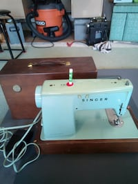white and blue sewing machine Port Coquitlam, V3C 4R5