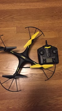 Black and yellow remote controlled quad copter Oakland, 94611