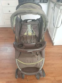 Baby stroller brown and green Jackson, 39206