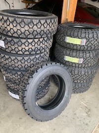 Sale on new truck tires