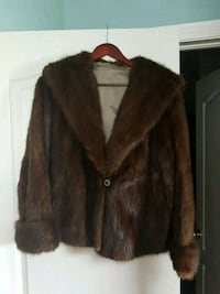 Womens mink jacket