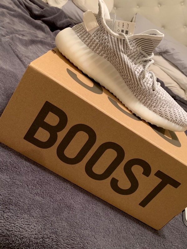 672dabfbd Used Size 12 dead stock static yeezys for sale in Fayetteville - letgo