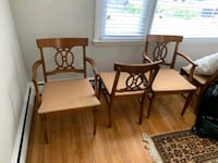Solid Wood Dining Table With 6 Chairs Aston, 19014
