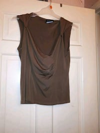 women's brown sleeveless top Mississauga, L4T 2A5