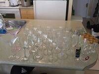 Cups/glasses/wine glasses/shot glasses Toronto, M9A 1C2