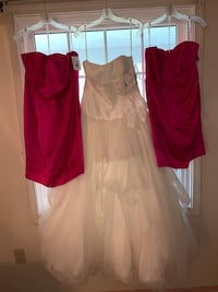 Two Brand New/ Never Worn David's Bridal Bridesmaid Dresses (Size 12 & 20) Can be sold separately ($50 each) Silver Spring, 20904