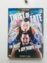 "Coffret 2 DVD « The Matt and Jeff Hardy Story"" Wingles, 62410"