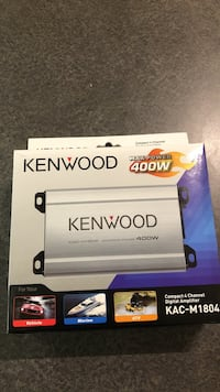 Kenwood compact 4 channel digital amplifier Burnaby, V5H