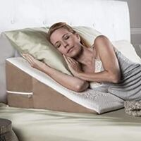 """Avana Back Wedge 8"""" Acid Reflux Pillow with Bamboo Cover London"""