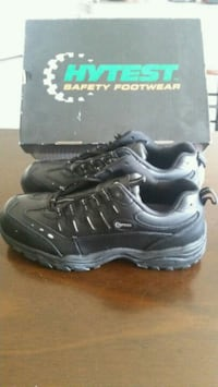New Black HYTEST steel toe work shoes Sumter, 29154