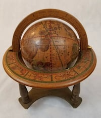 REPRODUCTION OF A 1507 TERRESTRIAL GLOBE-MADE IN ITALY. Merced, 95348