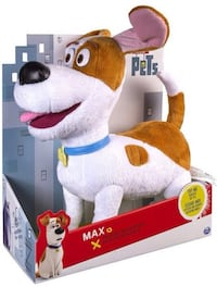 "Secret Life of Pets: Max 12"" Talking Buddy"