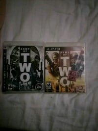 two Sony PS3 game cases Cottonwood, 96022