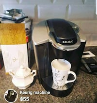 black and gray Keurig coffeemaker  Montreal, H3S 2L5