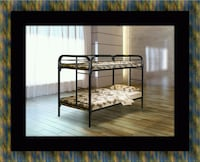Twin bunk bed frame with mattress Oxon Hill