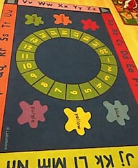 green white gray and red learning activity mat Victorville, 92392