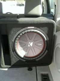 Need gone Kicker comp R 12inch 2ohm new with amp600.1mono amp and cap Martinsburg