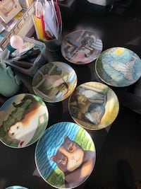 Collector Cat Plate Lot