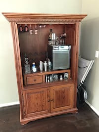 Available till 10/4 - Armoire/TV Cabinet/Wine cabinet