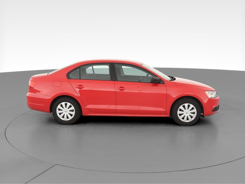 2014 VW Volkswagen Jetta sedan 2.0L Base Sedan 4D Red  9b399c22-fd04-435f-9ef8-c9e641485489