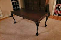 rectangular brown wooden coffee table Germantown, 20874