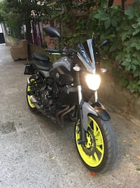 YAMAHA MT07 NİGHT FLUO 2016 Ataşehir, 34750
