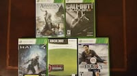 Xbox 360 (Halo 4 edition) system plus 5 games Silver Spring