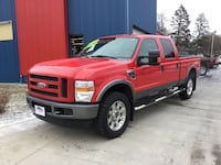 *6.4L DIESEL* *LEATHER* 2008 FORD F250SD -- Ask About Our Guaranteed Credit Approvals! Des Moines