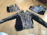 three brown and and black real tree camouflage shirts Boonsboro, 21713