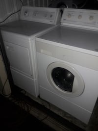 white front-load clothes washer Tucson, 85710