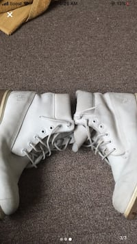 White timberland size 11 Des Moines, 50317
