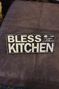 "New Wall Sign Decor ""bless this kitchen"" Alexandria, 22312"