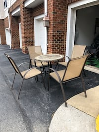 5 Piece Patio Furniture Set Fairfax, 22033