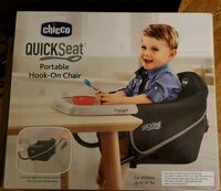 Chicco QuickSeat Portable Hook-On Chair  North Las Vegas, 89032
