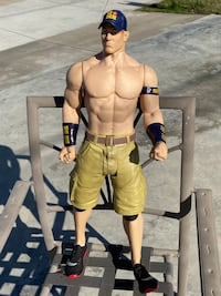 John Cena Life size (Kids size) action figure.
