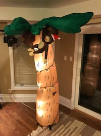 Inflatable Christmas palm tree with lights  Aurora, L4G